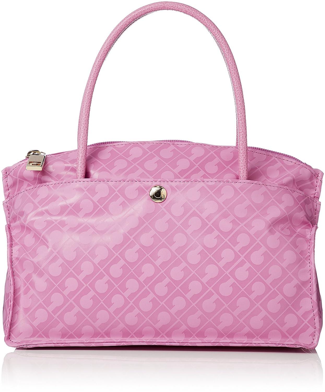 [ゲラルディー二]ハンドバッグ B07C5R4ZNH ピンク ピンク