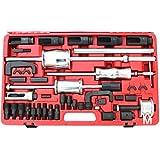 Coffret d'outils (40 pièces) extracteur d'injecteur diesel marteau coulissant et adaptateur sur rail commun