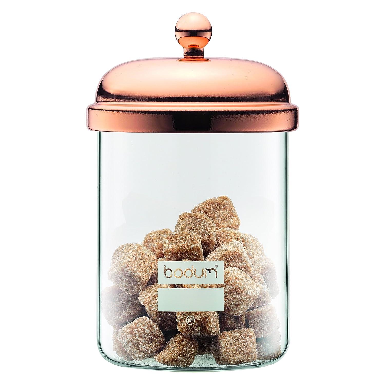 Bodum 11713-18 Chambord Classic Storage Jar, 17 oz, Copper