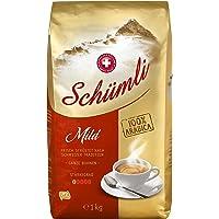 Schümli Mild Ganze Kaffeebohnen 1kg, 1er Pack (1 x 1000 g)