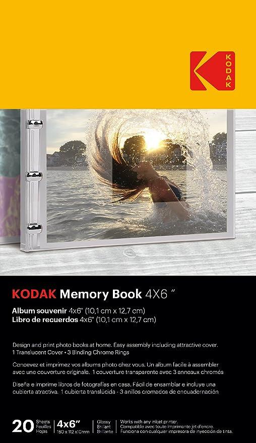Amazon.com: KODAK Memory Book 4x6 Translucent: Home & Kitchen