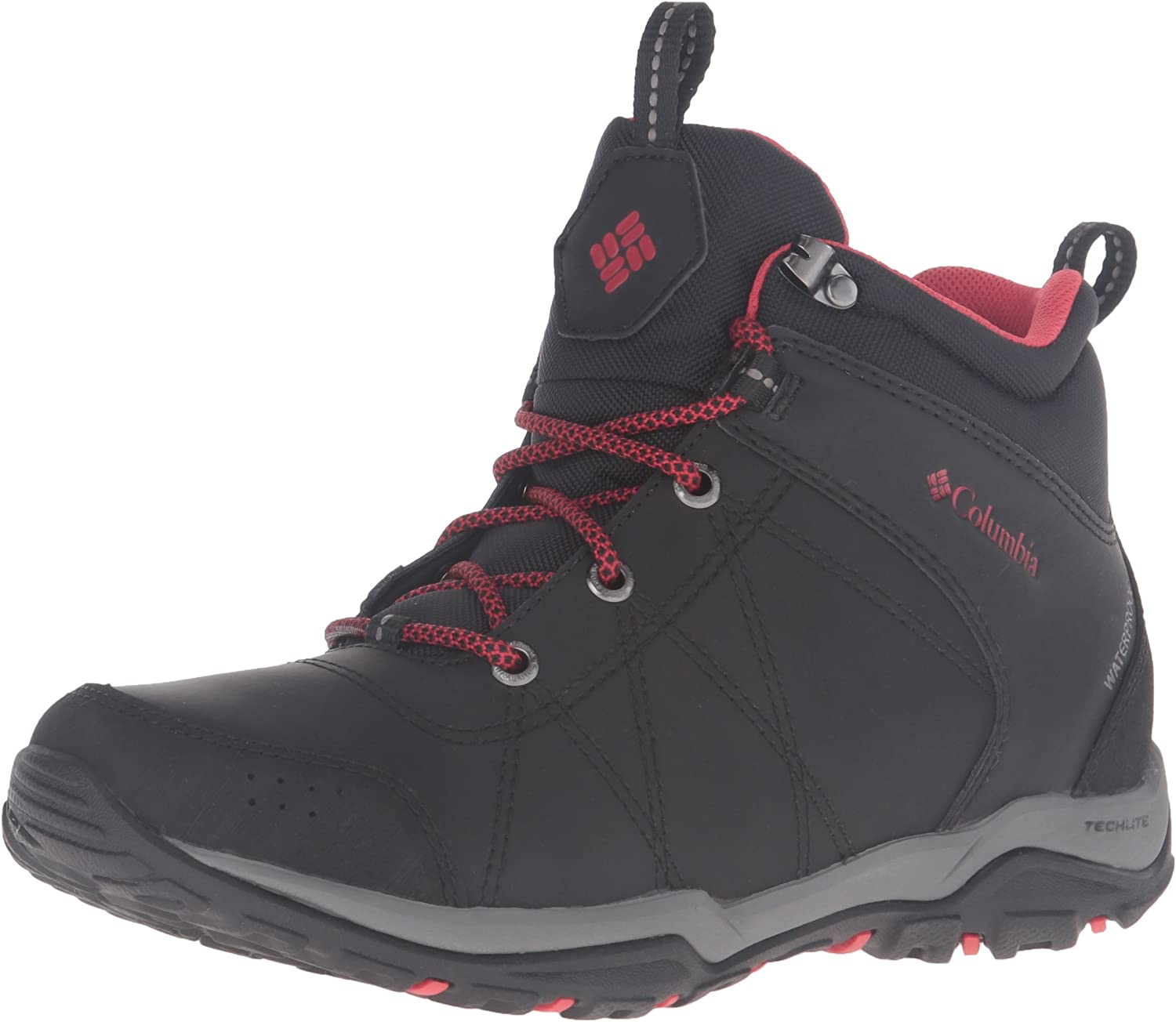 Columbia Womens Fire Venture Mid Waterproof High Rise Hiking Boots