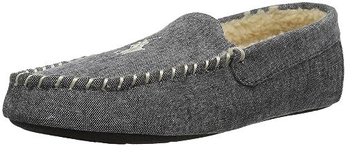 Ralph LAURENSMF7823ZRL - Mocasín Veneciano sin Cordones Polo Ralph Lauren Dezi II Hombres, Negro (Negro/Blanco), 7 D(M) US: Amazon.es: Zapatos y ...