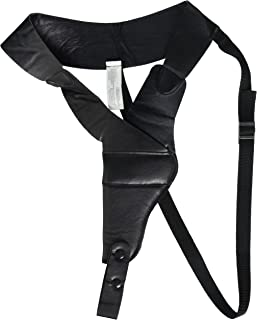 Pistol shoulder holster, black right: Amazon co uk: Sports