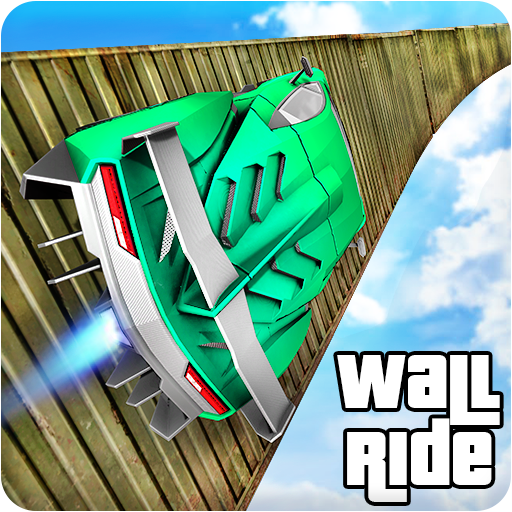Longest Impossible Wall Ride GT Car Racing Stunts