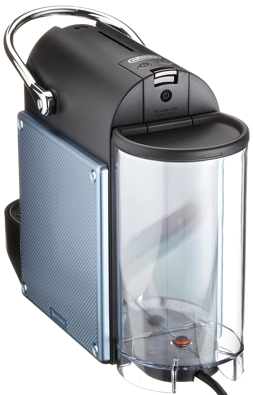 Nespresso Pixie Aluminium EN125A DeLonghi - Cafetera monodosis (19 bares, Apagado automático, Sistema calentamiento rápido), Color azul: Amazon.es: Hogar