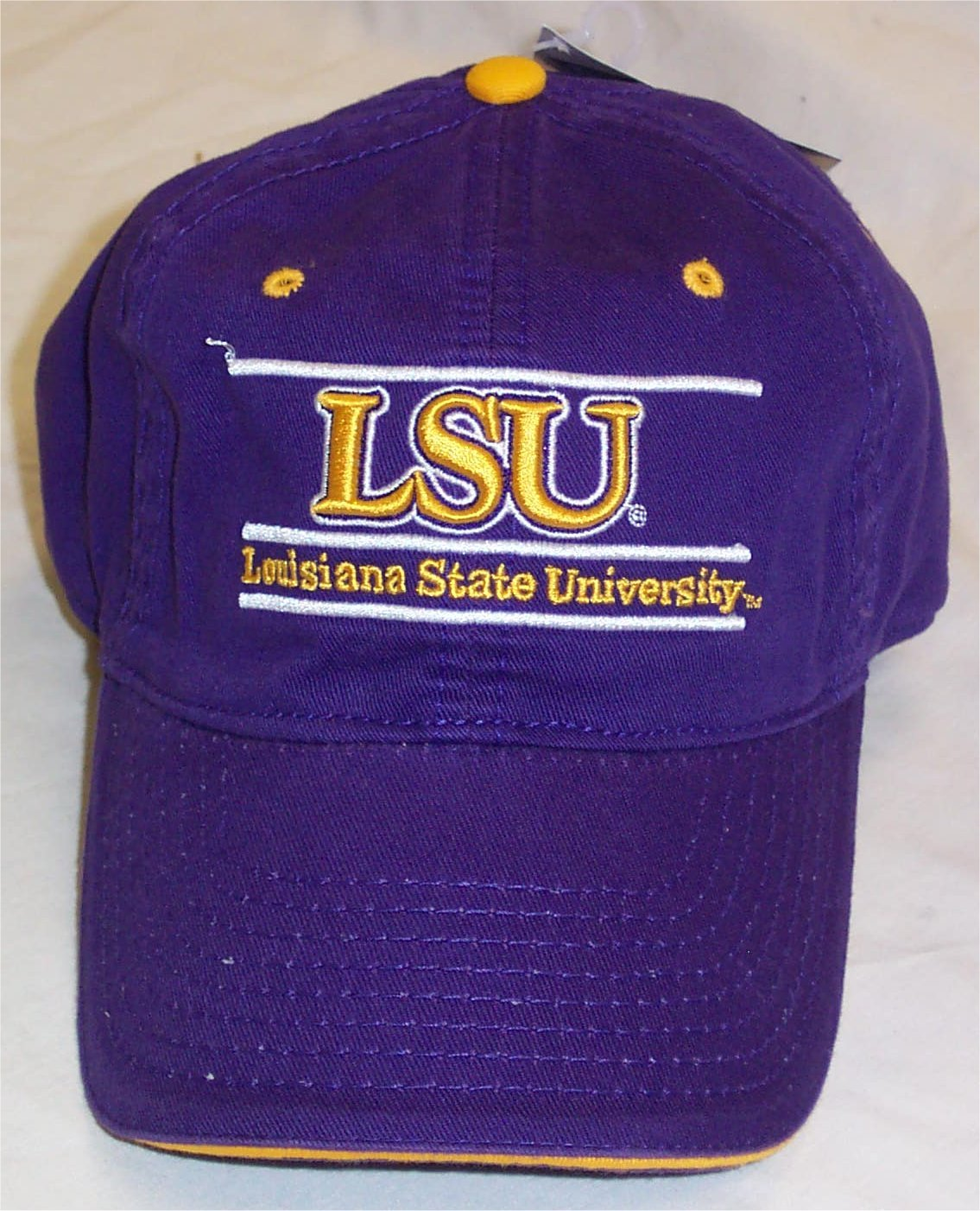 Amazon.com   LSU Tigers Purple Bar Adjustable Hat by The Game   Sports  Related Merchandise   Sports   Outdoors 4ec8da0756b4