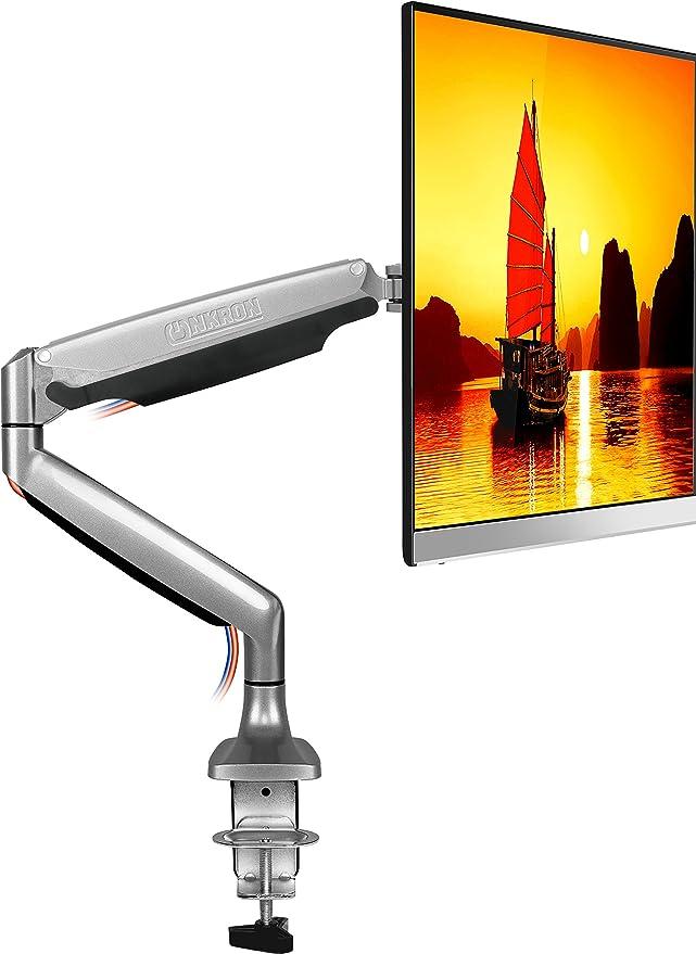 9 opinioni per ONKRON Supporto per monitor da scrivania G100 per schermi 22- 32 pollici Staffa