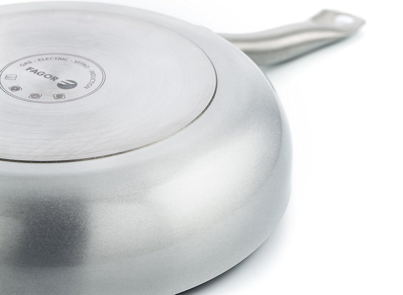 Fagor Bistro Sartén, Aluminio, 20 cm, Todos los fuegos y Horno, Full Induction