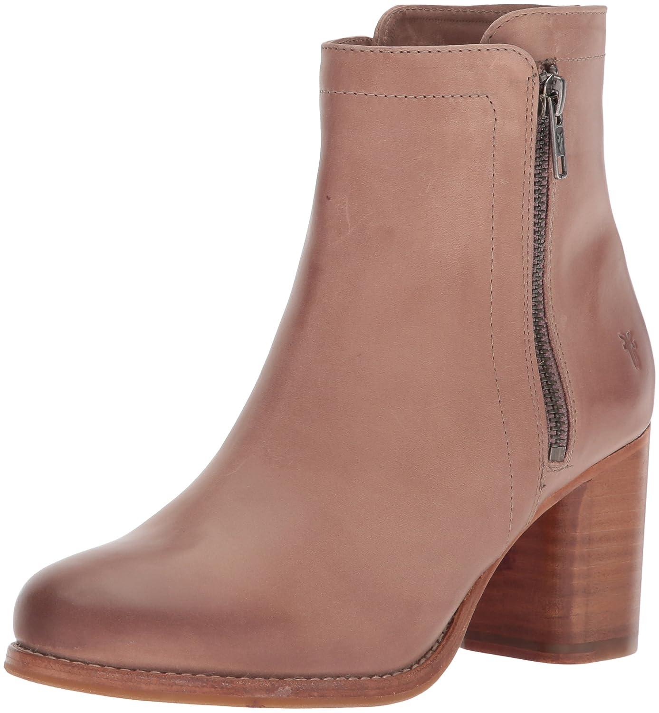 FRYE Women's Addie Double Zip Ankle Boot B072JXHD23 7 B(M) US|Dusty Rose