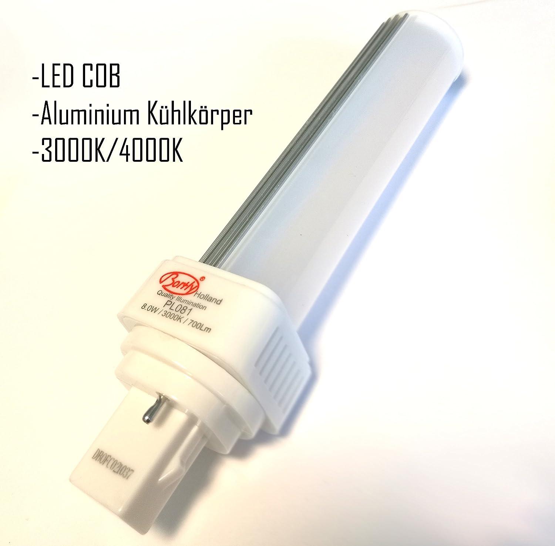 Bombilla LED G24d PL C de 2 pines, PL-C 10 W, 3000 K, sustituye la OSRAM G24d-2 DULUX, la Philips MASTER PL-C 2 pines G24d, 3 unidades: Amazon.es: ...