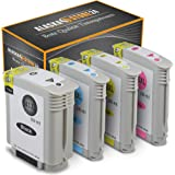 Alaskaprint Refilled Ink Cartridge Replacement for hp 940 XL for Officejet Pro 8000 8000 series 8000 Enterprise 8000 Wireless 8500A 8500 8500A Plus 8500A Premium 8500A Premier 8500 Wireless 8500 series (Black, Cyan, Magenta, Yellow 4-Pack)