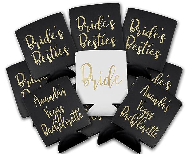 Amazoncom Brides Besties Bachelorette Party Custom Can Drink