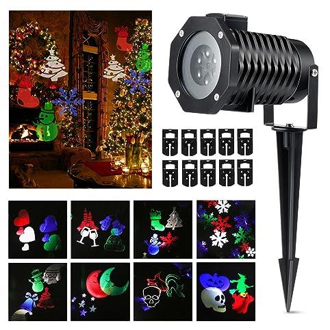 Amazon.com : Halloween Projector lights, Magicfly Rotating ...