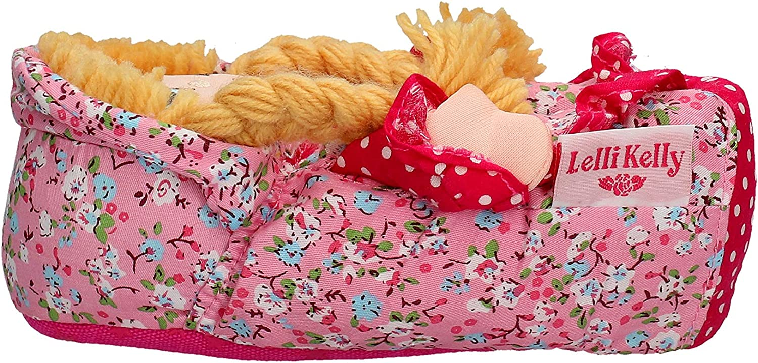 LK8000 Rossa Red Hair Come with Star Clips Lelli Kelly Doll Slippers
