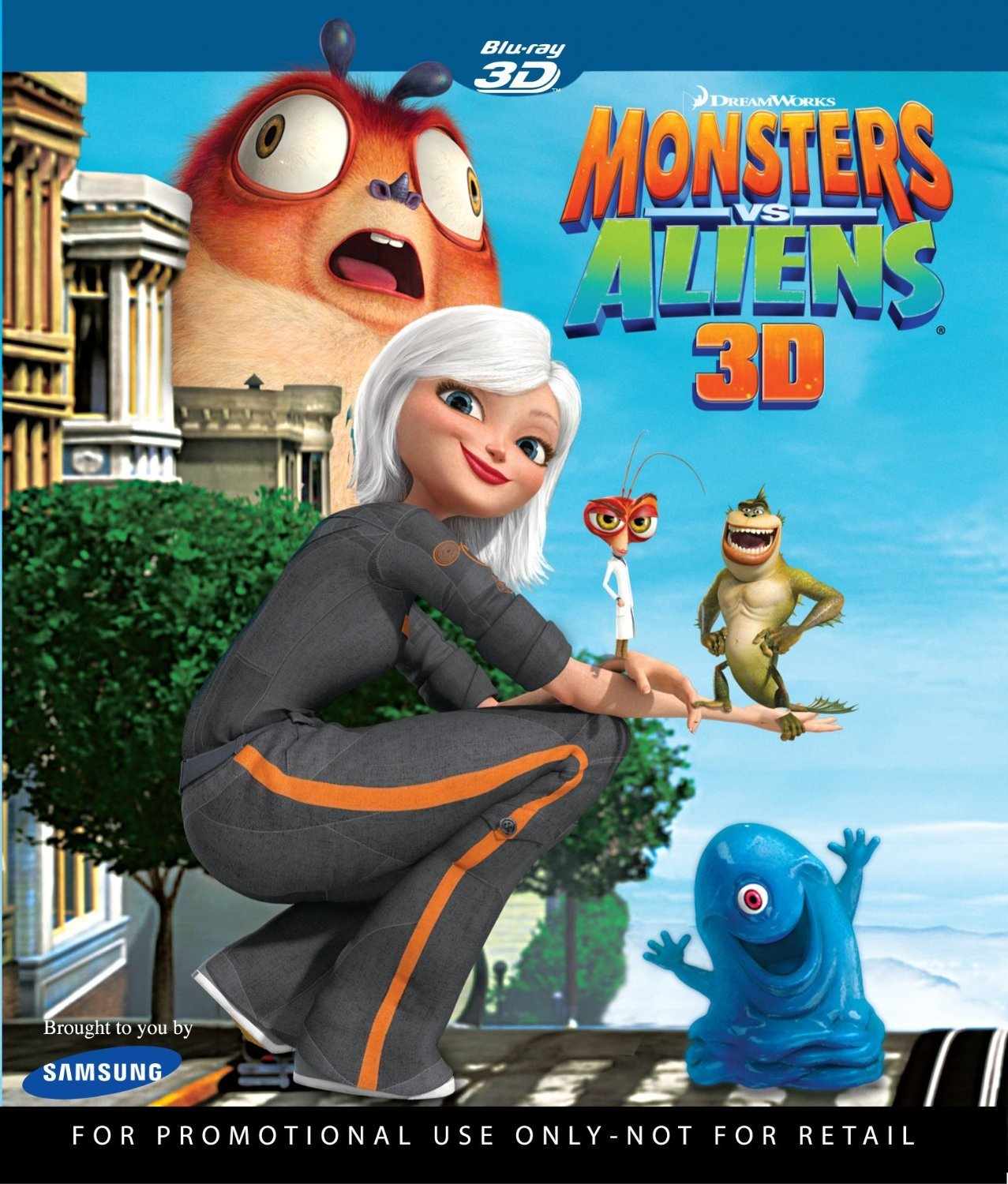 Amazon Com Monsters Vs Aliens 3d Blu Ray Movies Tv