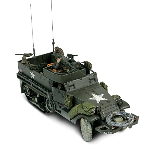 unimax toys. unimax forces of valor 1:32 scale u.s. m3a1 half-track d-day toys