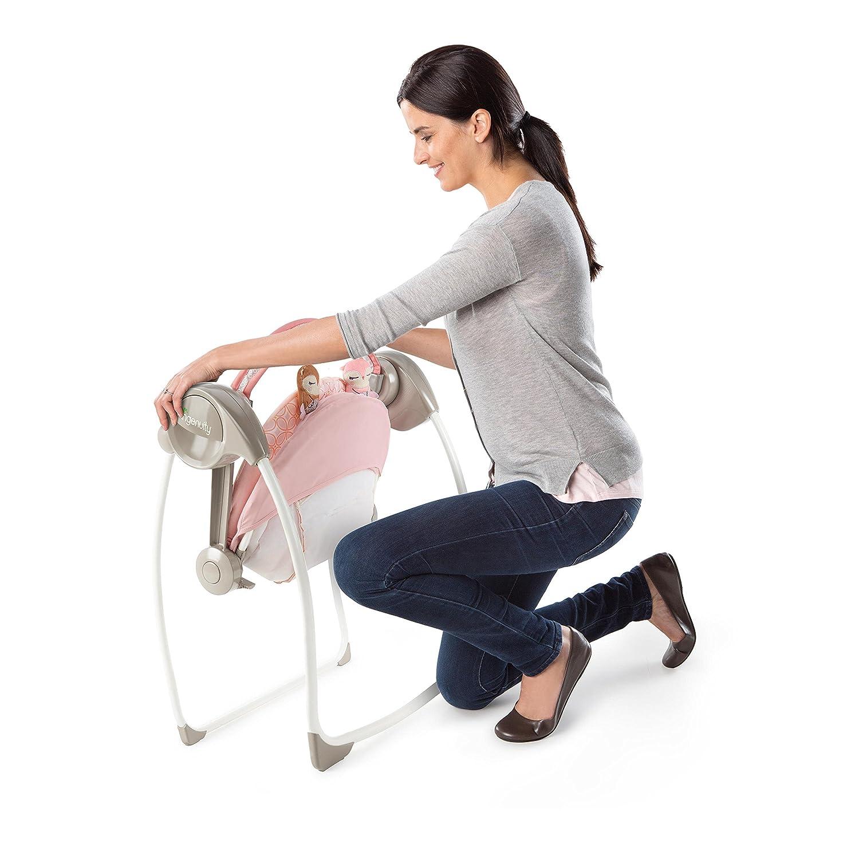 Ingenuity Comfort 2 Go Portable Swing, Audrey Kids II - (Carson CA) 11210-3-ES