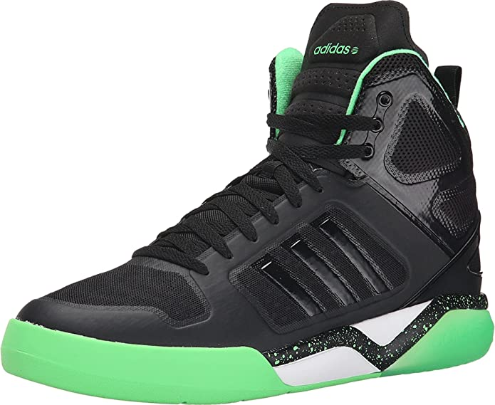 triple empresario flojo  Amazon.com | Adidas Neo BB95 Mid TM Mens Basketball Shoe 9 Black-Flash  Green | Basketball