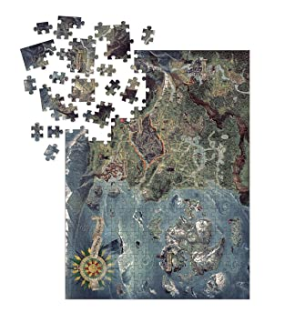 Dark Horse Deluxe The Witcher 3: Wild Hunt - World Map Puzzle ...