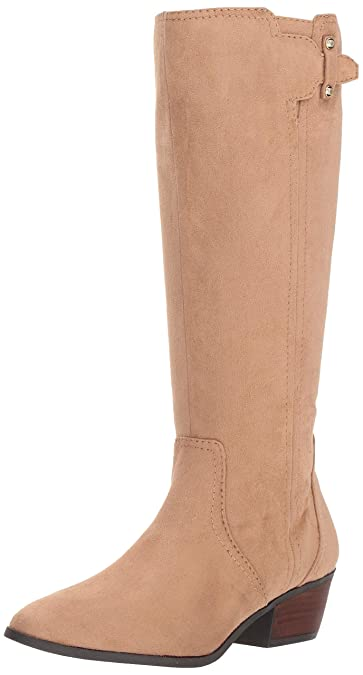Dr Scholl/'s Womens Brilliance Almond Toe Mid-Calf Riding Boots