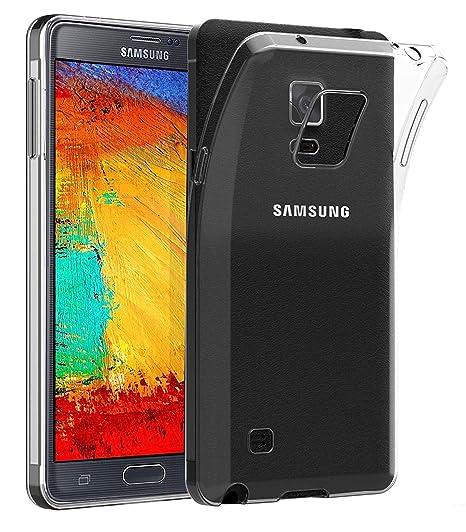 LUCKLYSTAR® Carcasa para Samsung Galaxy Note 3 Slim Transparente TPU Silicona Funda Anti-Rasguño Anti-Golpes Protective Case para Samsung Galaxy Note ...