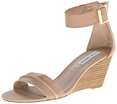 237f9217fa9 Amazon.com | Steve Madden Women's Neliee Wedge Sandal | Platforms ...