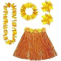 Video Delta Set Costume Hawaiano Arancione