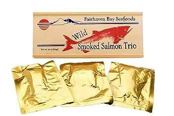 Fairhaven Bay Seafoods 22 Oz Smoked Salmon Trio