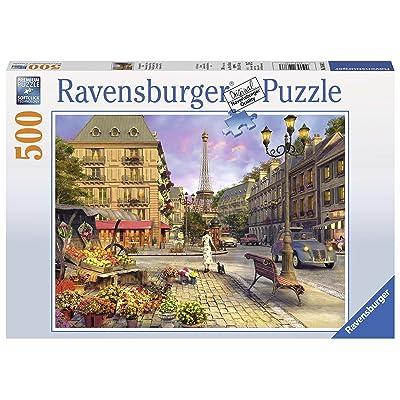 Ravensburger an Evening Walk - Paris Jigsaw Puzzle (500 Piece): Toys & Games