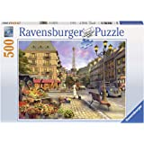 Ravensburger A Walk Through Paris Puzzle 500pc,Adult Puzzles