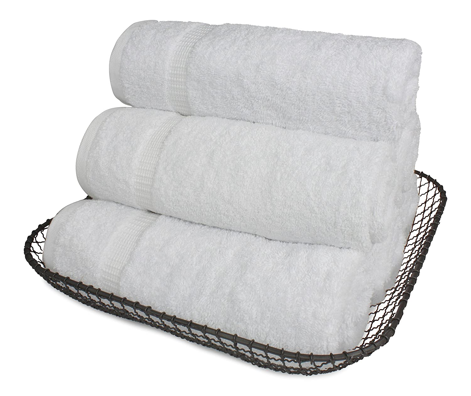 SALBAKOS Luxury Hotel & Spa Turkish Cotton 6-Piece Eco-Friendly Hand Towel Set