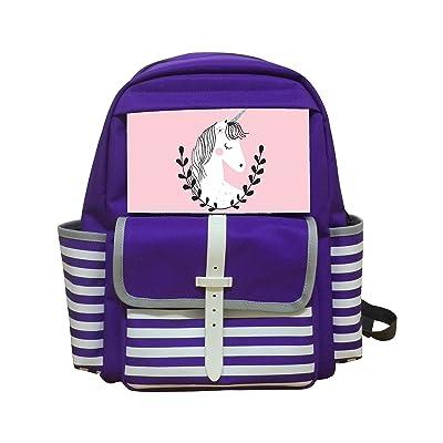 KIDAY Unicorn Girl Kids Bag Backpack Unisex School Rucksack Packback