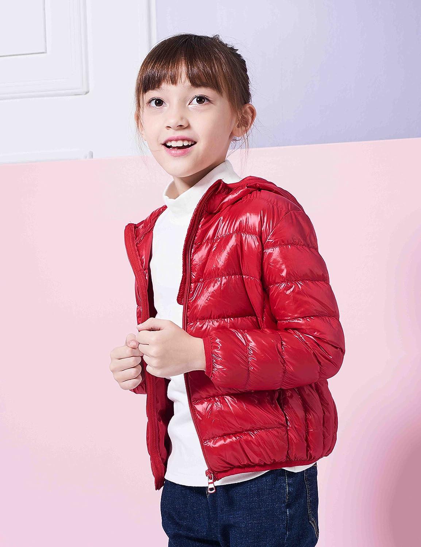 072db068e IKALI Kids Packable Down Coat