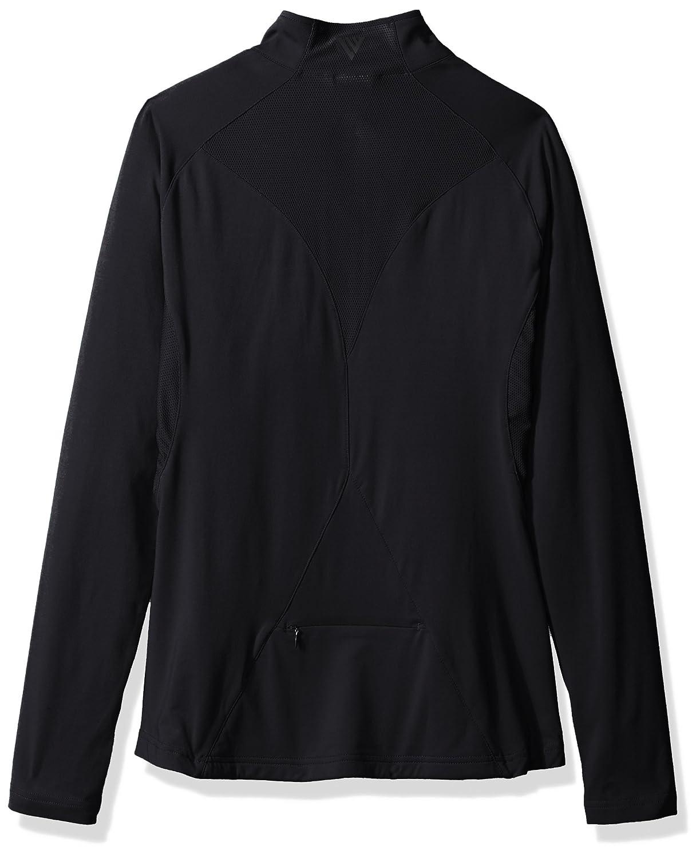Black Levelwear LEY9R NCAA Vanderbilt Commodores Adult Women Energy Insignia Half Zip Mid-Layer Large