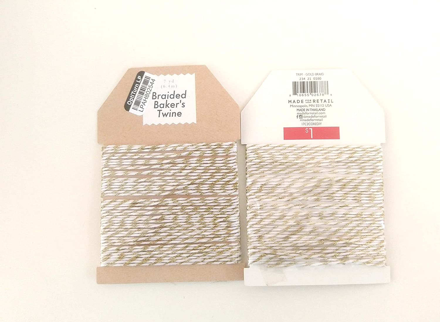 GOLD Braided Bakers Twine OPTITURN LP