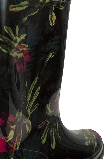 Mountain Warehouse Splash Wellies de Las Mujeres del chapoteo - Botas de Lluvia Impermeables para Mujeres, Zapatos cómodos, Botas de Agua fáciles de Limpiar ...