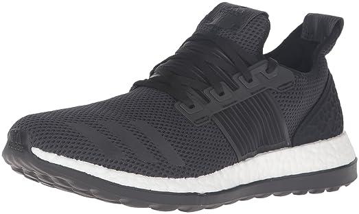02cf8c53b ... usa adidas performance mens pureboost zg m running shoe black black  utility black fabric e7b02 3b2cb
