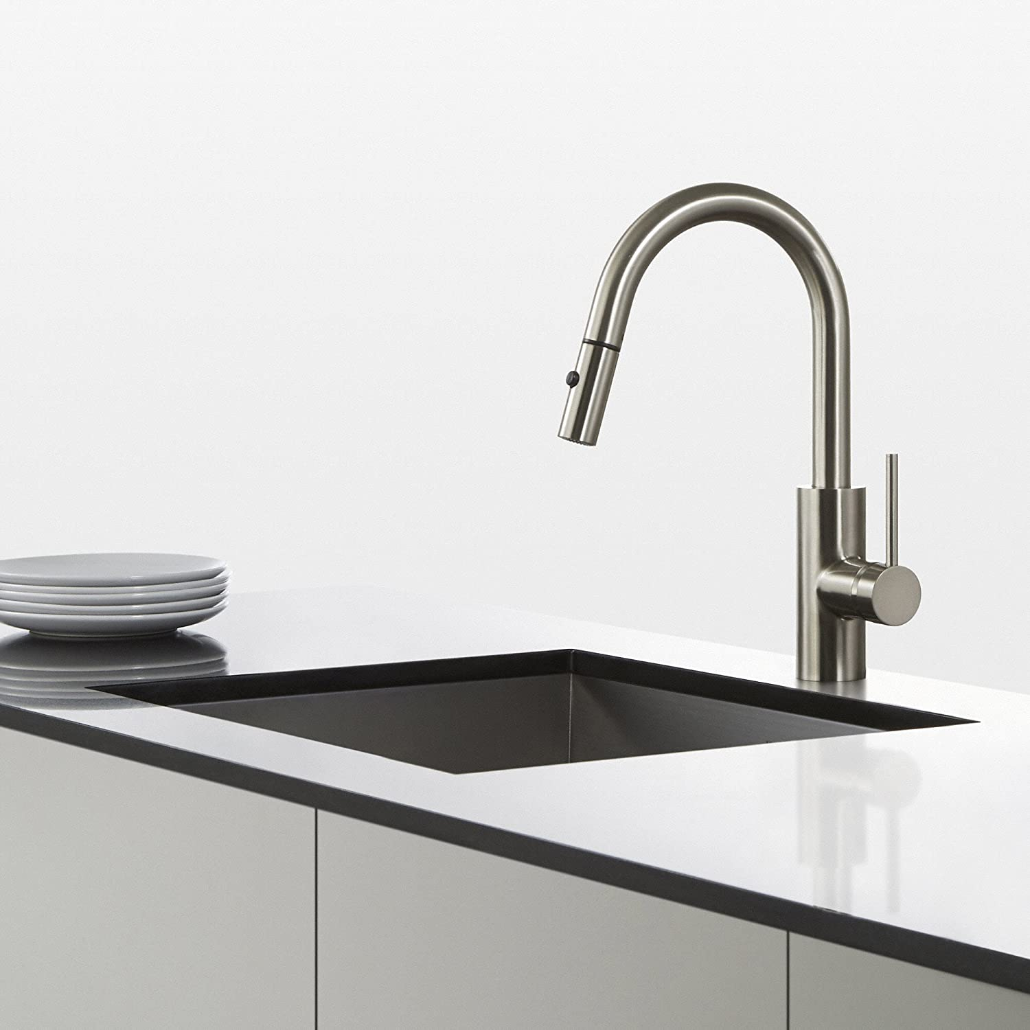 kitchen r faucet out pull