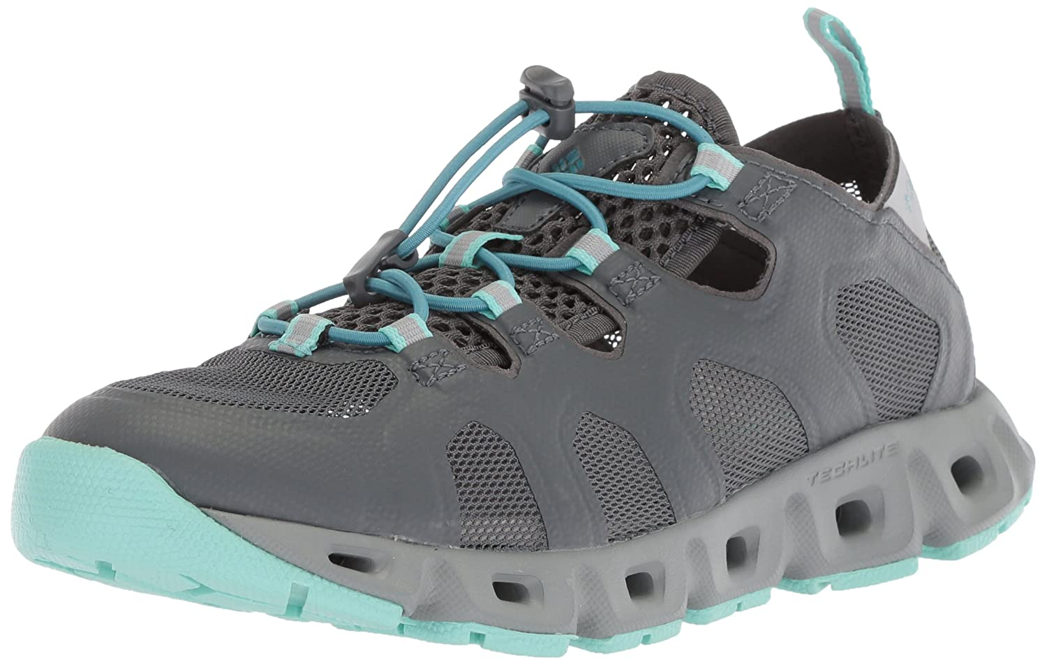 Columbia Women's Supervent Water Shoe B073W6MHS7 6.5 B(M) US|Graphite, Canyon Blue