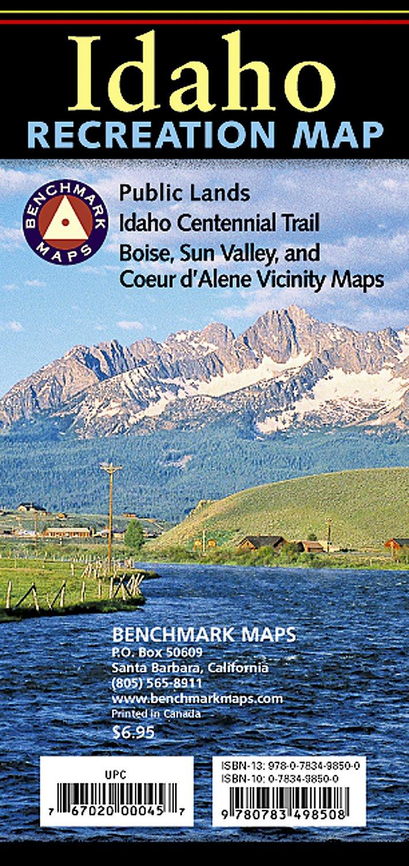 Idaho Recreation Map (Benchmark Maps: Idaho) ebook