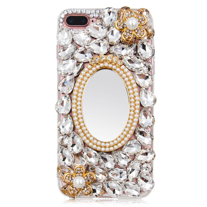 f730ecc548f Amazon.com  For iPhone 8 Plus 7 Plus Case Bling