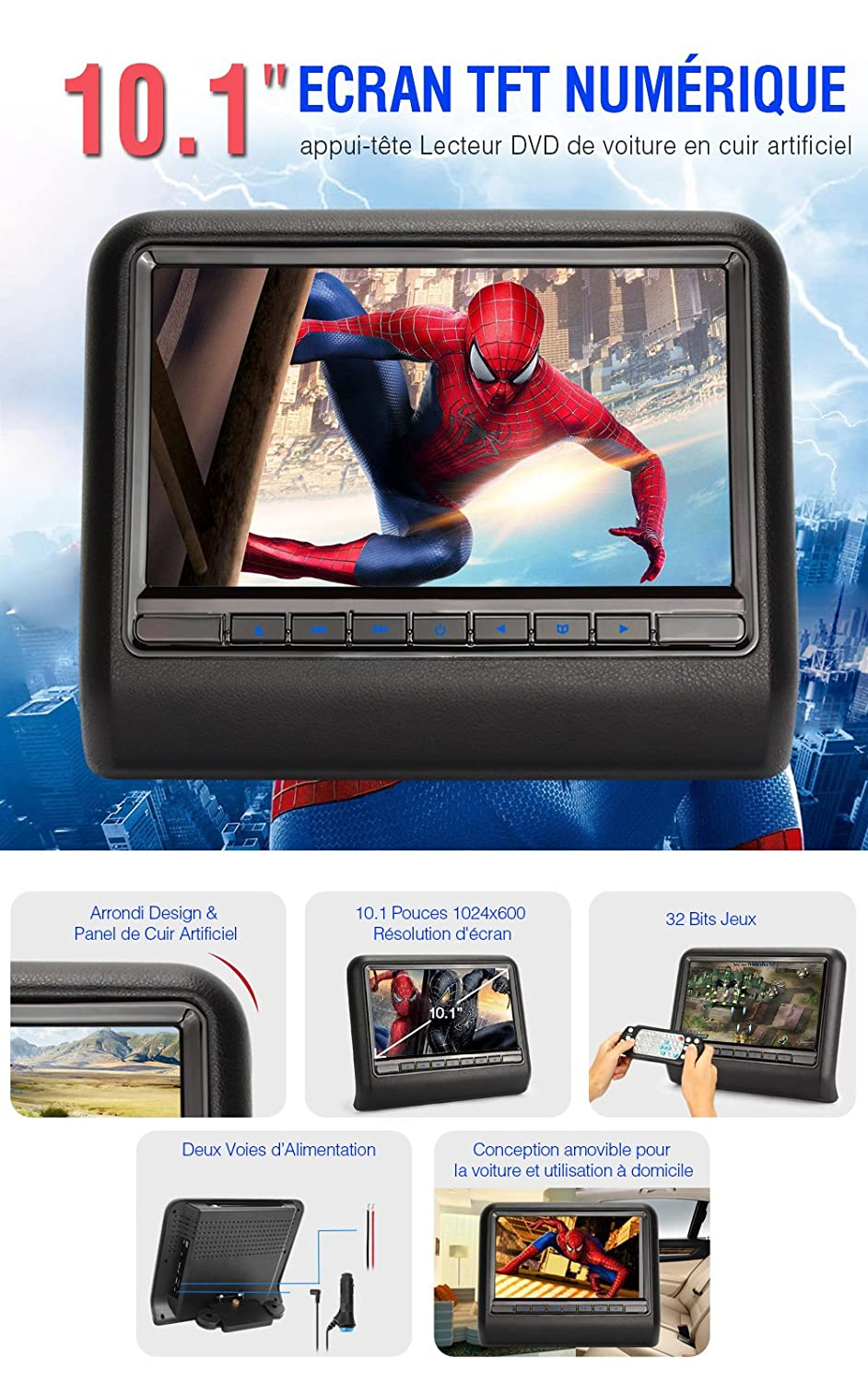 comparatif lecteur dvd voiture comparatif lecteur dvd voiture 2017 avi to voiture autos post. Black Bedroom Furniture Sets. Home Design Ideas