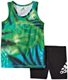 Amazon Price History for:adidas Girls' Top and Short Set