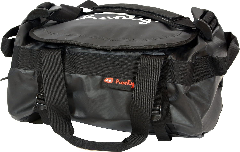 Black Small Henty Hold Em 42-Liter Duffel Bag