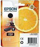 Epson Original T3351 Orange, Claria Premium Tinte, Text- und Hochglanzfotodruck XL (Singlepack) schwarz