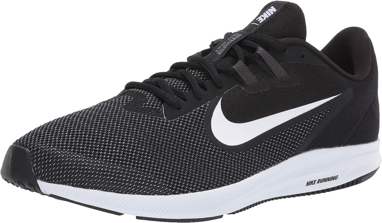 Nike Downshifter 9 - Zapatillas de correr para hombre, (Negro/Blanco - Antracita - Gris Frío), 41.5 EU: Amazon.es: Zapatos y complementos