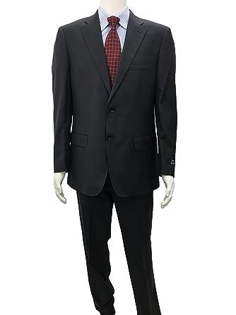 1b8eb1b3d4 Hima ENRICHO Brindisi 2 Button Super Fine Wool Suit, Slim Fit, Flat ...