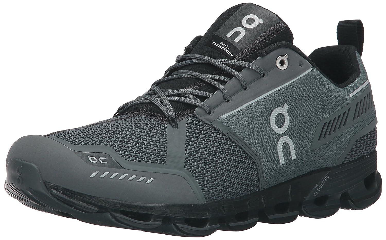 On Running Men's Cloudflyer Sneaker Iron/Sky B0199SWW3G 9 D(M) US - Men's|Rock/Black