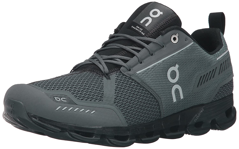 On Running Men's Cloudflyer Sneaker Iron/Sky B0199SWSMQ 7 D(M) US Men's|Rock/Black